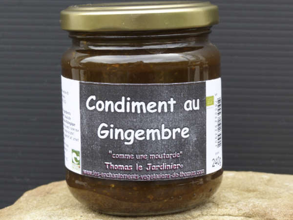 Condiment au gingembre