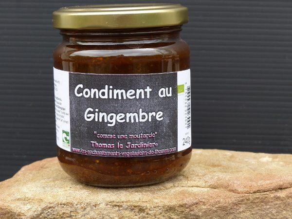 Condiment au gingembre