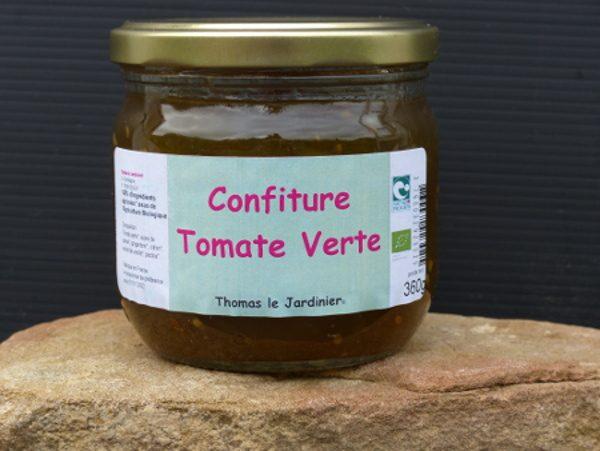 Confiture de tomates vertes au gingembre