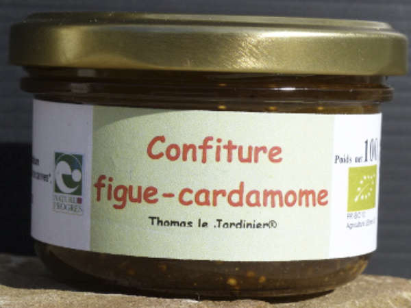 Confiture figues cardamone