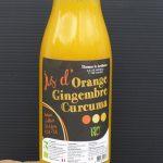 Jus d'orange, gingembre et curcuma 500