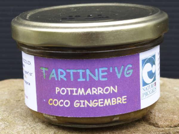 Pâté végétal potimarron, coco, gingembre