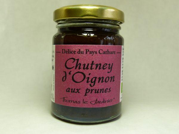 chutney d'oignon