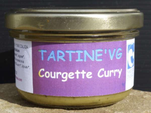Pâté végétal courgettes curry