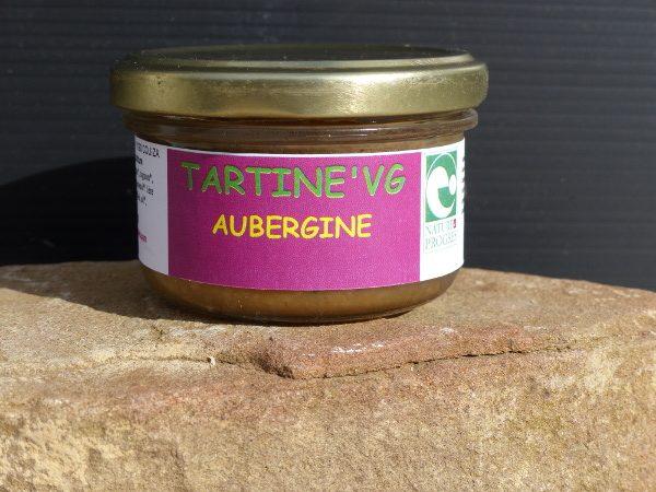 tartine'VG aubergine