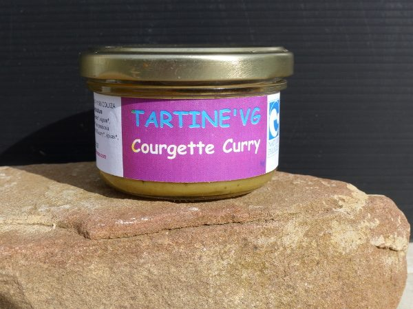 tartine'VG courgette-curry